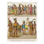 Mexican Dress Postcard