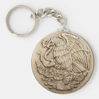 Mexican eagle keychain