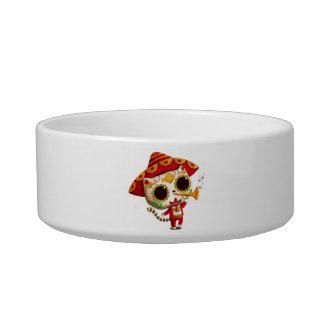 Mexican El mariachi Cute Cat Bowl