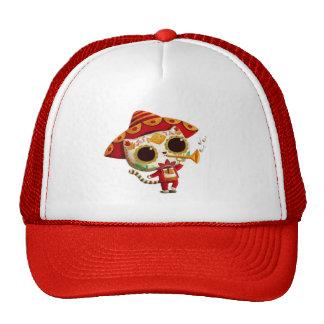 Mexican El mariachi Cute Cat Trucker Hat