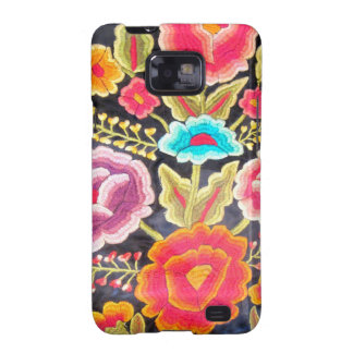 Mexican Embroidery design Galaxy S2 Case