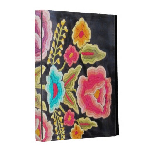 Mexican Embroidery design iPad Case