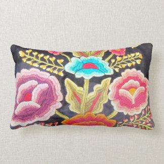 Mexican Embroidery design Lumbar Pillow
