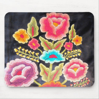 Mexican Embroidery design Mouse Pad