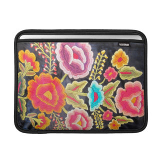 Mexican Embroidery design Sleeve For MacBook Air