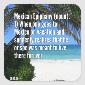 Mexican Epiphany Stickers (sheet of 6)