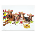 Mexican Fiest 4.25x5.5 Paper Invitation Card
