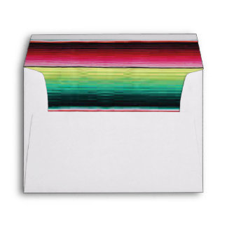Mexican Fiesta Aztec Rug mailing envelopes