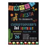 Hand shaped MEXICAN FIESTA BIRTHDAY INVITATION | FIESTA PARTY