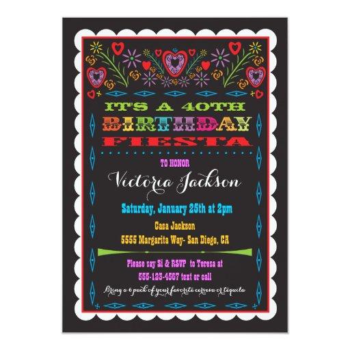 Mexican Fiesta Invitation as great invitation example