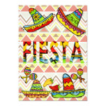 Mexican Fiesta Cinco de Mayo Invitations Chevron