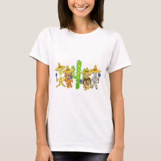 Mexican Fiesta Critters T-Shirt