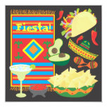 Mexican Fiesta Dinner Party Invitation