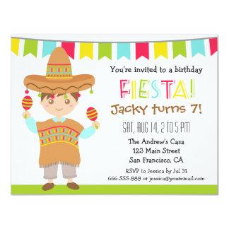 Mexican Fiesta Birthday Party Invitations Announcements Zazzle