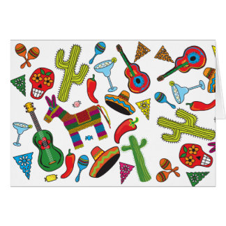 Mexican Fiesta Party Images Card