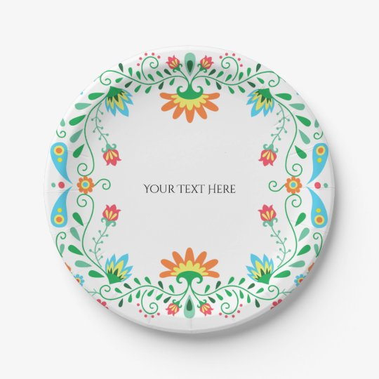 Mexican Fiesta Party Paper Plates  sc 1 st  Zazzle & Mexican Fiesta Party Paper Plates | Zazzle.com