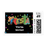 Mexican Fiesta Party Postage Stamp