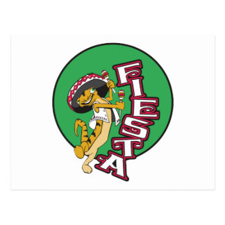 Mexican Fiesta Post Card