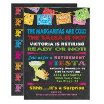 Mexican Fiesta Retirement Party Invitation