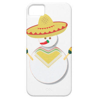 Mexican Fiesta Snowman Phone Case iPhone 5 Covers