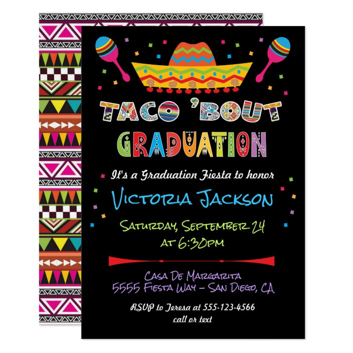 Mexican Fiesta Taco Bout Graduation