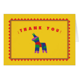 Mexican Fiesta Thank You Card