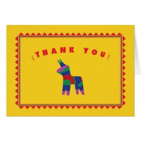 Mexican Fiesta Thank You Card