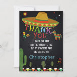 "MEXICAN FIESTA THANK YOU CARD<br><div class=""desc"">A printable Thank You card complementing the invitation of your choice.</div>"
