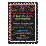 """Mexican Fiesta Wedding Announcement Invitation 5"""" X 7"""" Invitation Card"""