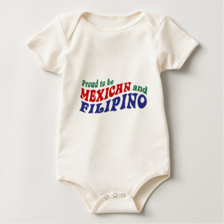 Mexican Filipino Baby Bodysuit