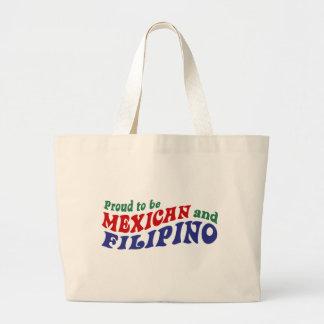 Mexican Filipino Jumbo Tote Bag