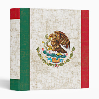 """MEXICAN FLAG 1"""" Ring Binder"""