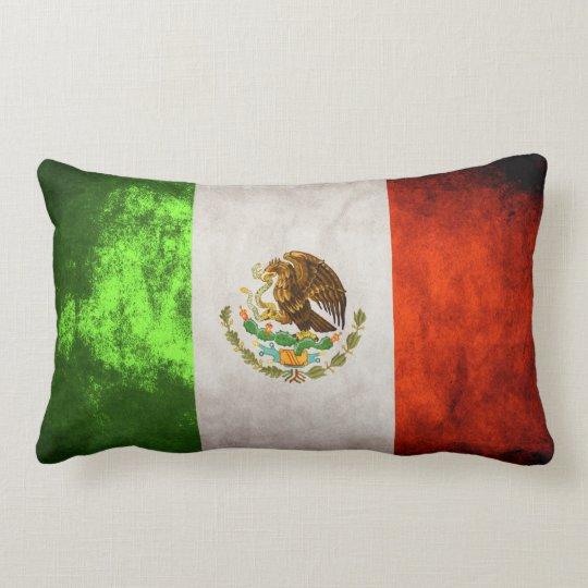 Mexican Flag American MoJo Pillow