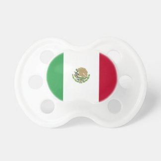 Mexican Flag Baby Pacifier