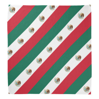 Mexican flag bandana | Country colors of Mexico