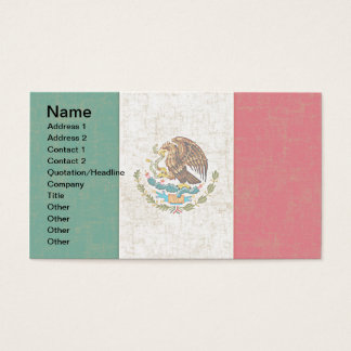 MEXICAN FLAG Business Cards