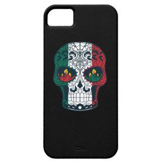 Mexican Flag Colors Day Of The Dead Sugar Skull iPhone SE/5/5s Case