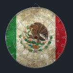 "Mexican Flag Dart Board<br><div class=""desc"">Mexican Flag</div>"