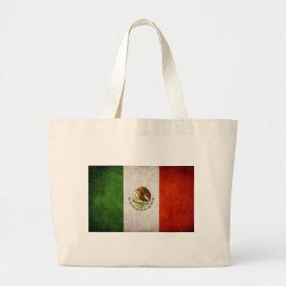 Mexican Flag Designs Canvas Bags