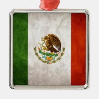 Mexican Flag Designs Metal Ornament