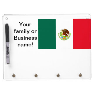 Mexican Flag Dry-Erase Whiteboard