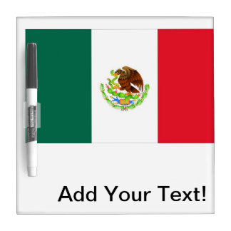 Mexican Flag Dry-Erase Whiteboards