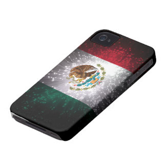 Mexican Flag Firework iPhone 4 Cover