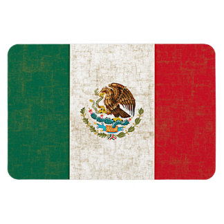 MEXICAN FLAG Flexible Magnet Rectangular Magnet