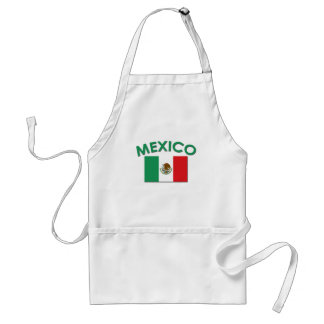Mexican Flag (Green) Adult Apron