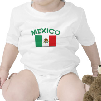 Mexican Flag (Green) Baby Creeper