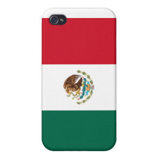 Mexican Flag Hard Shell Case for iPhone 4/4S iPhone 4/4S Covers