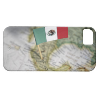 Mexican flag in map iPhone 5 case