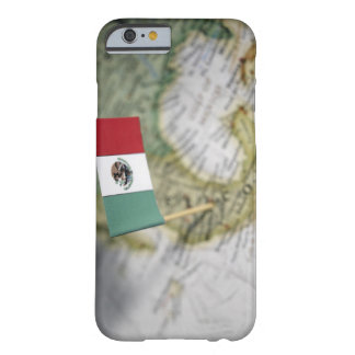 Mexican flag in map iPhone 6 case