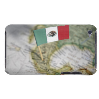 Mexican flag in map iPod touch cases